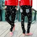 New brand design star print men pants hip-hop harem full length pencil pants Free Shipping MF7563241