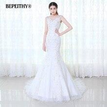 BEPEITHY Mermaid Wedding Dress Casamento 2019 Sexy Lace