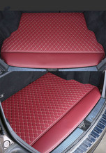 Custom Special Car Trunk Mats for Jaguar XF XEL XJL XF F-PACE F-TYPE Waterproof Durable Cargo Rugs Carpets 3d full covered waterproof boot carpets durable custom car trunk mats for 2012 2018 year jaguar xfl xel xjl f pace xf xj