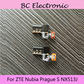 Earphone Jack for ZTE Nubia  Prague S NX513J Audio Headphone Jack Black Earpiece Hole Module Replacement Free Shipping