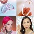 Maquillaje Facial Suave Silisponge Fundación Polvo Cosmético Esponja Blender