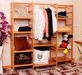 Большое пространство шкаф одежды дисплей стойки, вешалка деревянная мебель сушильный шкаф шкаф steelframe armario ropero