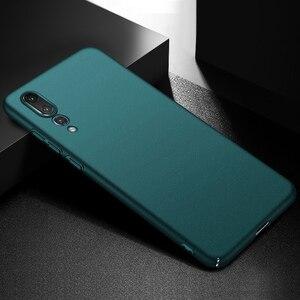 Image 5 - Do obudowy Huawei P20 Pro P30 Pro, ultra cienka, minimalistyczna, wąska, ochronna tylna obudowa telefonu do Huawei P20 Lite