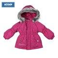 Девушки зима верхняя одежда 2015 Муми Мода Полиэстер карман на молнии карман Вырос зима parka девушки reima зима куртка