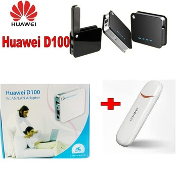 Huawei D100 3g Wireless Router transforms USB 3G  E176  Modem/dongle into WiFi network togther