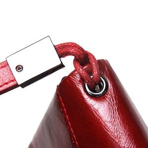 Image 5 - 連絡の新2020本革の女性のクラッチ牛革財布高品質のファッション女性財布電話バッグ