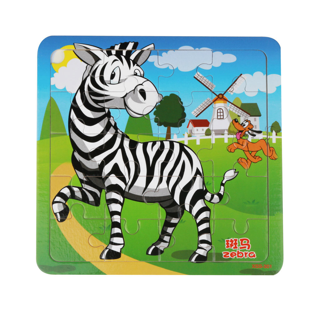 HIINST kids educational toys 2017 Wooden Puzzle Educational Developmental Baby Kids Training Toy*R Drop