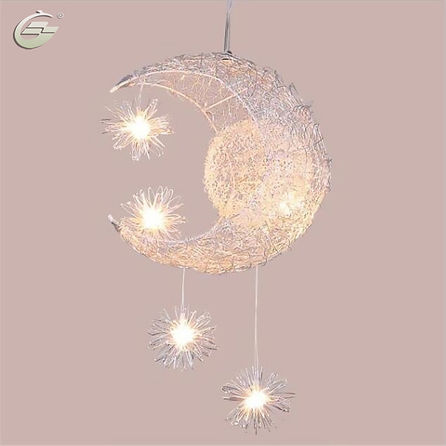 kids pendant lighting. New Novelty Kid Children Room Light Lamp Modern Pendant Lighting For Bedroom Moon Star Lights Free Kids H