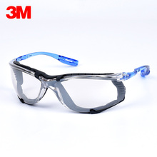 3M 11874 Protective Eyewear Foam Gasket Transparent Anti Fog Lens Anti Dust Wind Riding Sporty Safety Goggles Protective Glasses