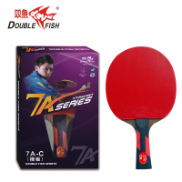 Original Double fish 7AC 7stars table tennis finished rackets wenge wood racquet sports pure wood fast attack with loop