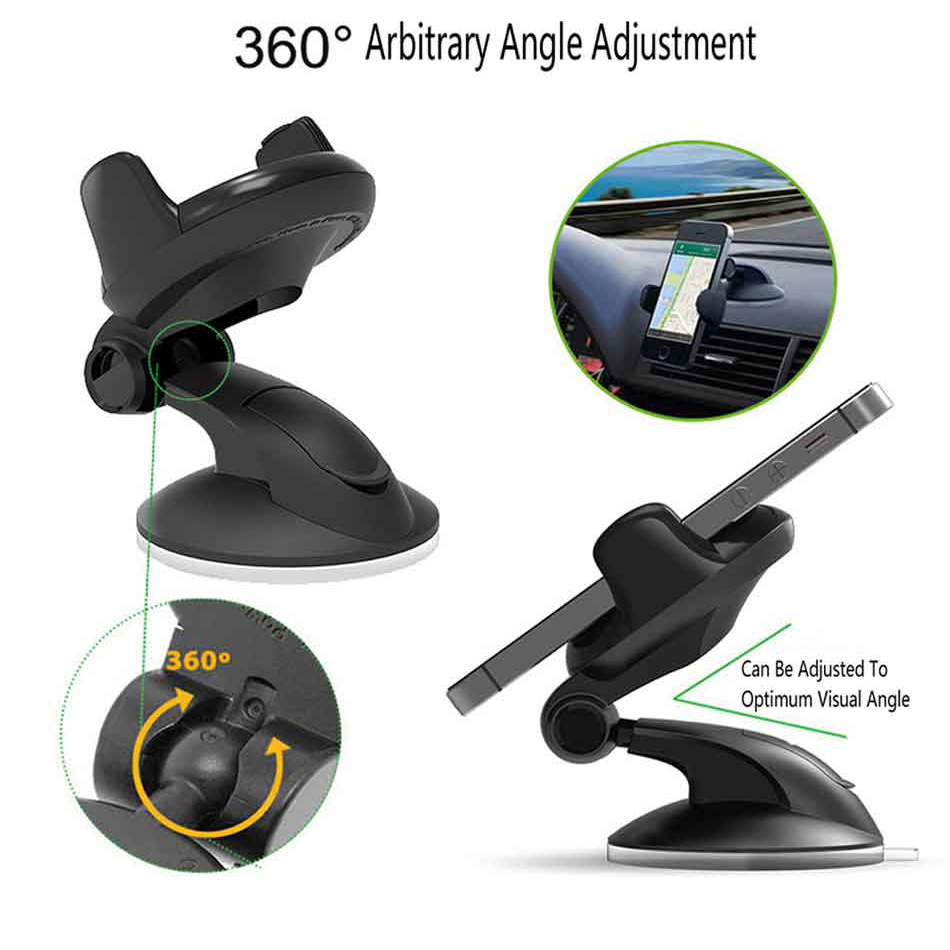 Image 5 - Suporte Porta Celular For Samsung iPhone Huawei Telefon Cell Soporte Movil Auto Mobile Phone Stand Car Holder Smartphone Voiture-in Phone Holders & Stands from Cellphones & Telecommunications