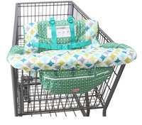 Safe Soft Baby Shopping Cart Seat Cover Folding Portable Seat Covers High Chair Pad For Toddler Infant Baby