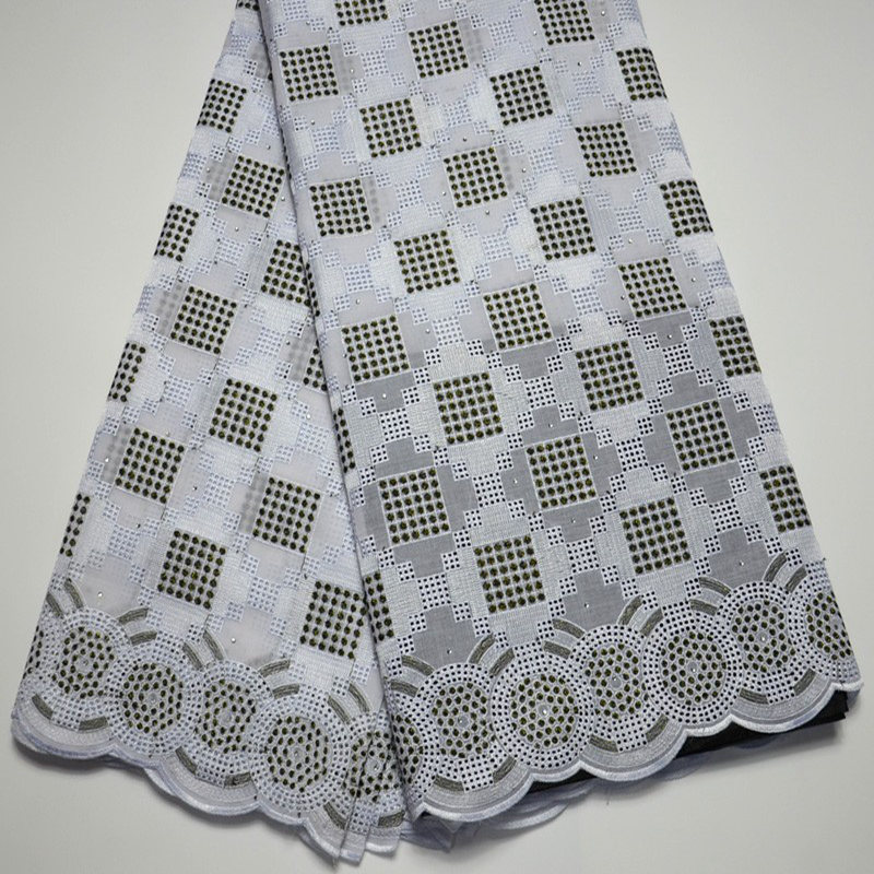 white black Nigerian Lace fabrics 2019 African Swiss Voile Lace High Quality Swiss Voile Lace in