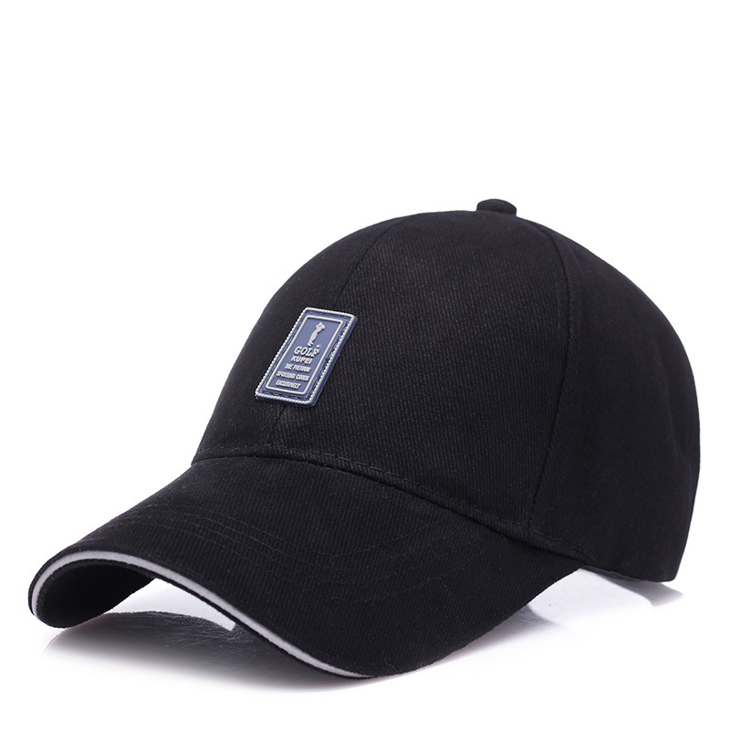 KUYOMENS Golf Logo Cotton Baseball Cap Sports Golf Snapback Outdoor Simple Solid Hats For Men Bone Gorras Casquette Chapeu new unisex 100% cotton outdoor baseball cap russian emblem embroidery snapback fashion sports hats for men