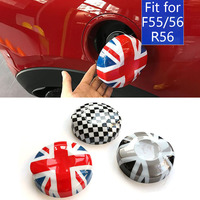 ABS Union Jack Flag Fuel Tank Cap Cover Sticker Case Decoration For BMW MINI Cooper S 2.0T F54 F55 F56 Car Styling Accessories