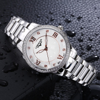 Japan Quartz Women Stainless Steel Watch Women's Clock Lorinser Top Brand Luxury Female WristWatches Waterproof Watch For Women