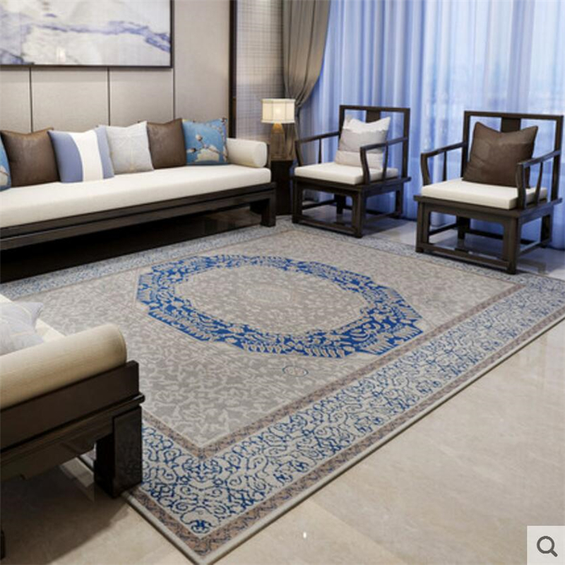 Luxury Traditional Chinese Style Delicate Design Carpets For Living Room Bedroom Rugs Home Carpet Floor Door Mat Soft Area Rug