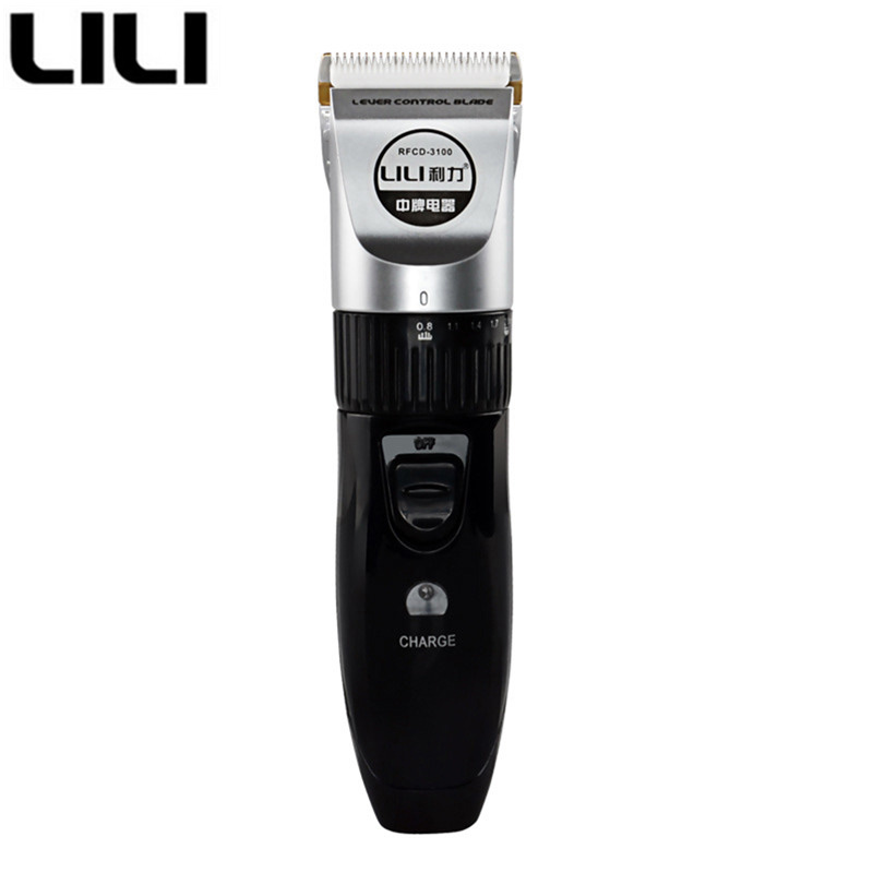 LILI Electric Professional Hair Trimmer clipper Rechargeable Hair Cutting Machine multi- ...