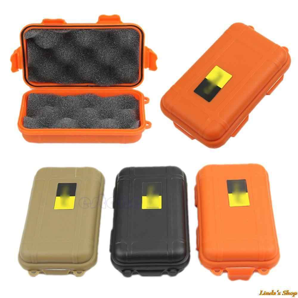 EDC gear waterproof box kayak Storage outdoor camp fish Trunk Airtight container carry travel seal case bushcraft survive kit