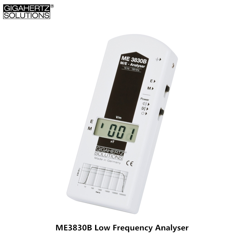 Free Shipping GIGAHERTZ ME3830B Low-frequency Electromagnetic Radiation Detector Germany Electromagnetic Radiation Monitor