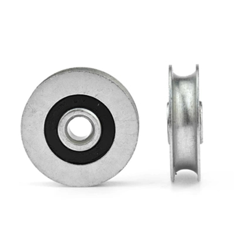 6.4x32x8mm Bearing Guide Roller Pulley Rail Groove Idler Wheel