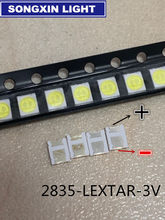 Desconto da fábrica maior luz de fundo led, 1210 3528 2835 3v 6v 1w 92l lm branco frio para lg innotek lcd luz de fundo led aplicação de tv
