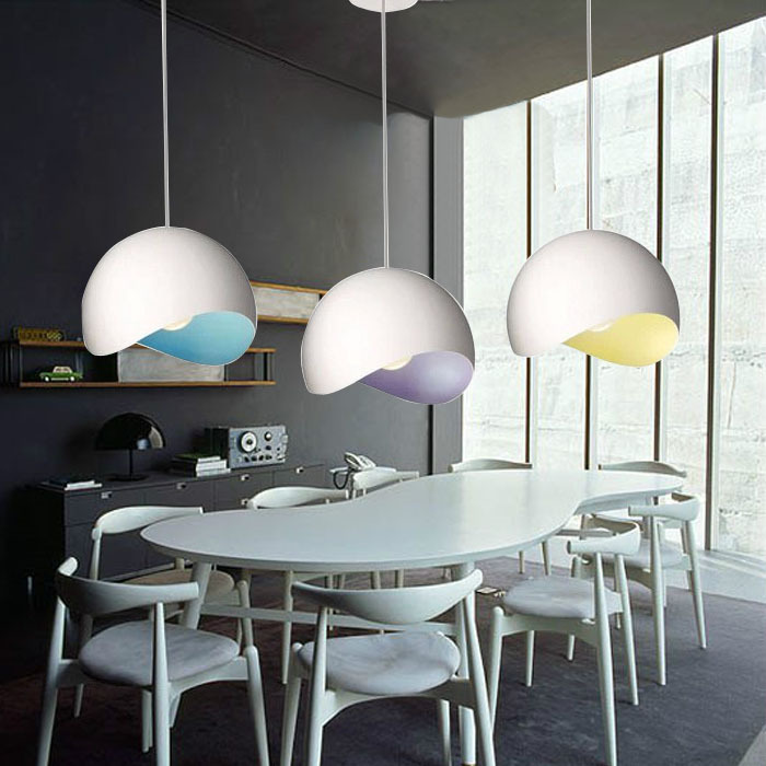 modern restaurant bar single head 30CM Creative fashion pendant lamp shade personalized art lighting lamps bedroom den zzp creative lamp the dog contemporary and contracted study lamp bedroom the head of a bed folding the mywood art lighting