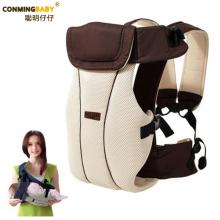 Updated 2-30 Months Breathable Multifunctional Front Facing Baby Carrier Infant Baby Sling Backpack Pouch Wrap Baby Kangaroo(China)