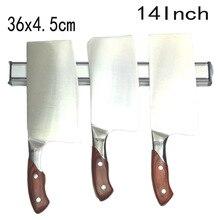 36×4 cm Hohe Qualität Kraftvoll Magnet-messerhalter aluminiumlegierung Block Magnet Messerhalter Für Edelstahl Messer