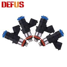DEFUS 4X OE 0280158821 1500CC топливный инжектор для бензинового метанола 210lb высокое сопротивление потока форсунки впрыска модифицированных автомобил...