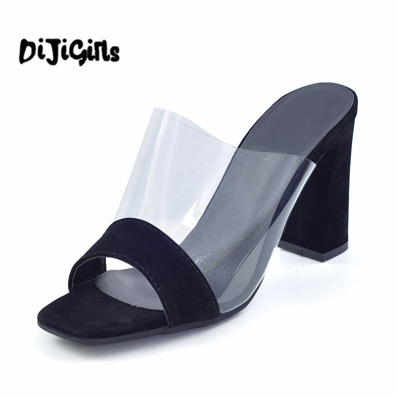 Summer Gladiator Sandals Transparent Slippers Sexy High Heels Casual Platform Shoes Woman Fashion Pumps chnhira 2017 suede gladiator sandals platform wedges summer creepers casual buckle shoes woman sexy fashion high heels ch406