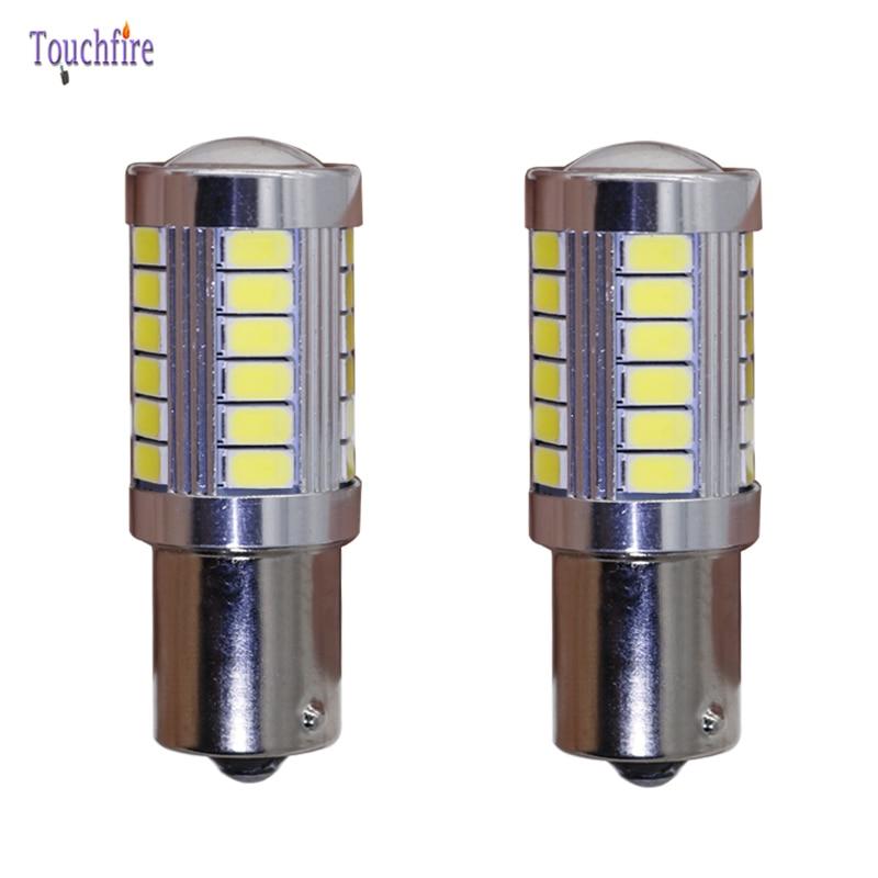2pcs Canbus Error Free Dropshiping 1156 1157 BA15S 5630SMD 3157 7443 LED Car Bulb Brake Signal Lights Reverse Auto 12V BAY15D