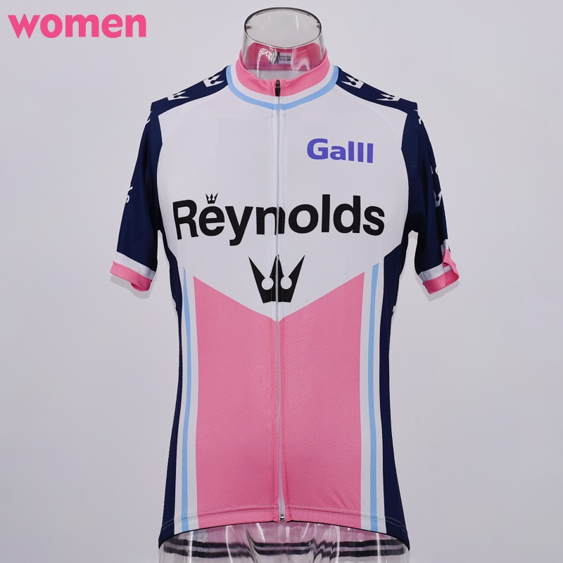 031f18c52 Hot women s Pink Cycling Jersey Classic retro Short Sleeve pro team MTB Road  Racing Bicycle Cycling Clothing Maillot Ciclismo-in Cycling Jerseys from  Sports ...