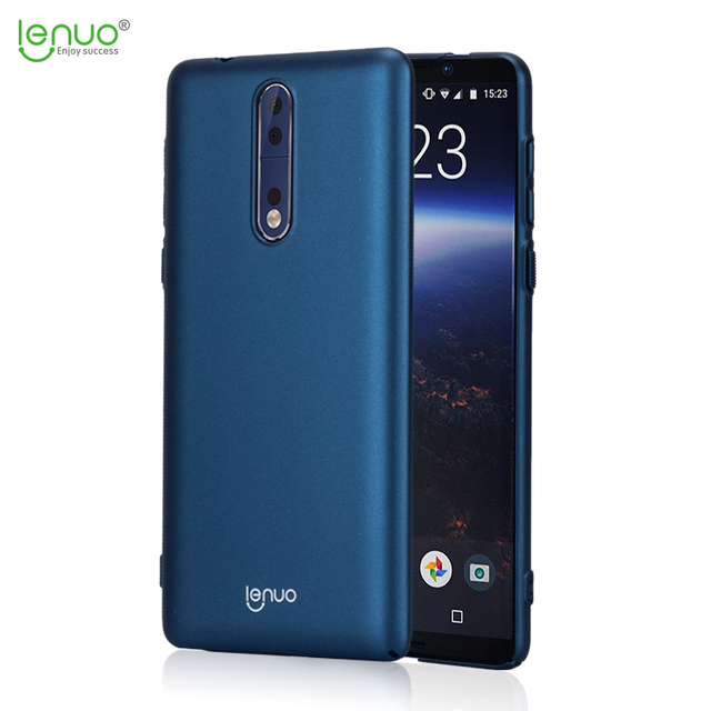 new concept 48ebe ae256 US $6.59  for Nokia 8 Case Original Lenuo Brand Leshield Series Hard PC  Case Cover Nokia 8 Nokia 6 Nokia 5 Case-in Fitted Cases from Cellphones &  ...