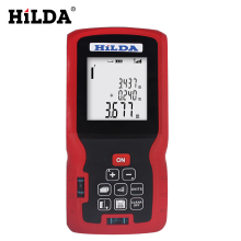 Sale HILDA 40M/60M Laser Rangefinder Laser Tape Range Finder Trena Ruler Diastimeter Measure Roulette Test Tools