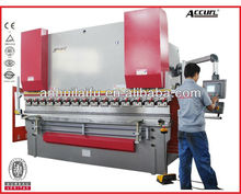6mm hydraulic plate bending machine,8ft sheet metal bender,2.5 mtr cnc press brake,120 Tons metal plate cnc bending machine