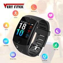 VERYFiTEK Q11 Super długi czas czuwania inteligentny zegarek Monitor ciśnienia krwi bransoletka fitness zegarek mężczyźni kobiety Smartwatch PK Q9
