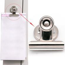 10 шт./лот, магнитный зажим на холодильник для дома, магниты на холодильник, настенные рецепты, памятка, примечание, держатель для сообщений, зажим, канцелярские принадлежности
