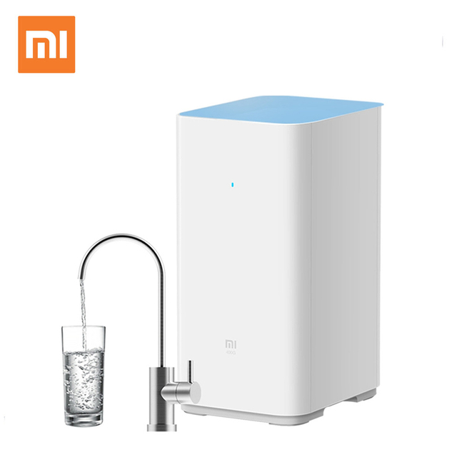 US $805 12 |New Original Xiaomi Mjia Home Water Purifier Smart APP  Monitoring RO Purification Direct Drink Health Water Filters Android IOS-in  Water