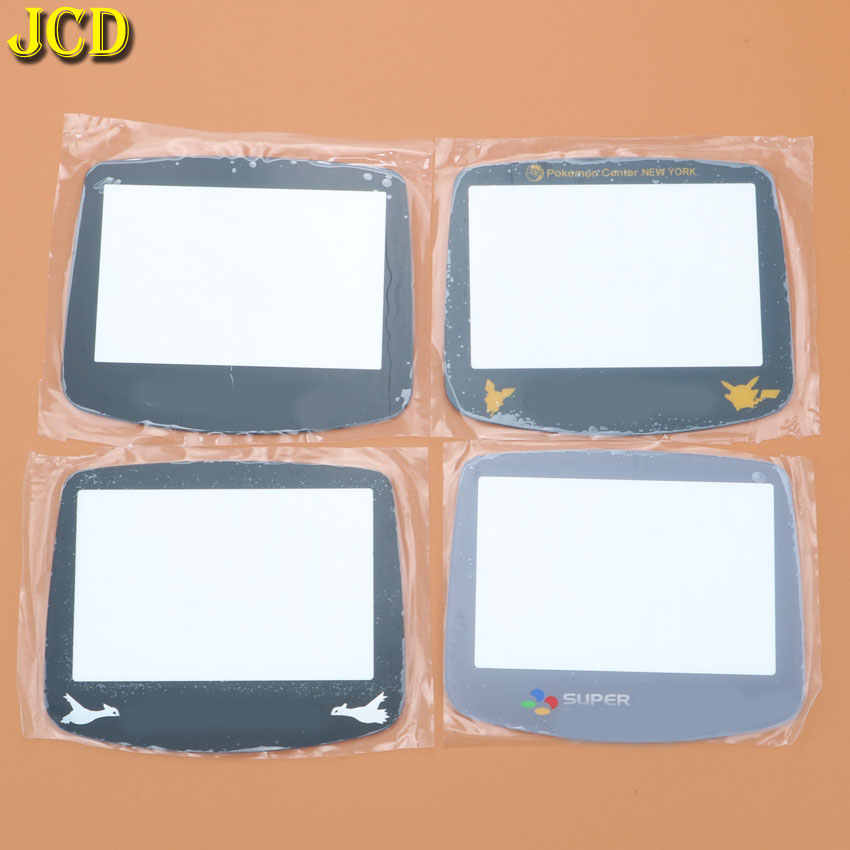 JCD 1Pcs Glass Plastic Lens For GBA System Replacement Glass Plastic Screen Lens Cover For Nintend GameBoy Advance