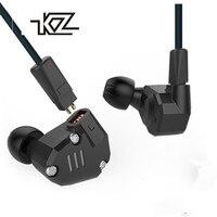 KZ ZS6 2DD+2BA Hybrid In Ear Earphone Monito Running Sport bluetooth Earphone Metal Earphone HIFI DJ Headset Earbud KZ ZS5 Pro