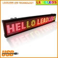 "RGY Tri-color Usb Programmable Scrolling Electronic LED Sign 30"" X 6.3"" Indoor Led Message Board"
