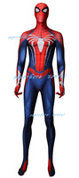 PS4 Insomniac Spiderman Zentai Suit 3D Print New Games Spidey Cosplay Costume Halloween Spandex Catsuit can customized