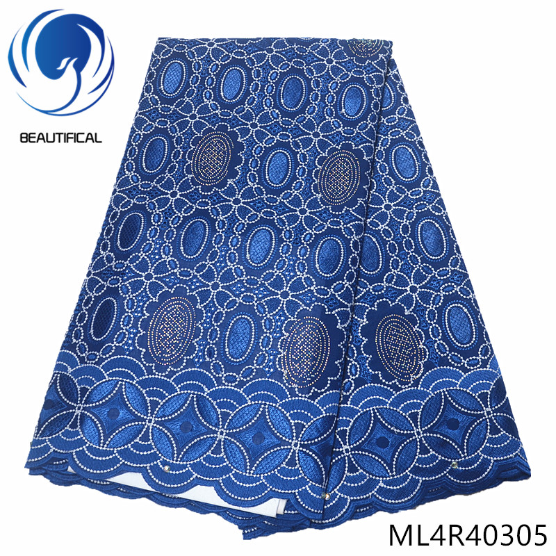 BEAUTIFICAL african lace fabrics for women dress embroidery cotton swiss lace fabric New design swiss voile lace fabric ML4R403BEAUTIFICAL african lace fabrics for women dress embroidery cotton swiss lace fabric New design swiss voile lace fabric ML4R403