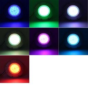 Image 5 - إضاءات حوض السباحة مع نافورة 12 فولت التيار المتناوب مصباح تحت الماء IP 68 مقاوم للماء سبا ساونا مصباح RGB متعددة الألوان مع جهاز التحكم عن بعد 36 واط 45 واط 54 واط
