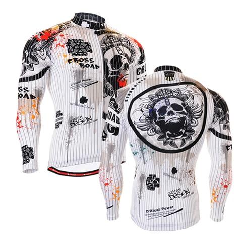 Jaquetas de Ciclismo Jaqueta à Prova de Vento Capa de Chuva da Bicicleta da Bicicleta Homem Jersey Multif Função Crânio Ciclismo Roupas 7 Estilos 2020