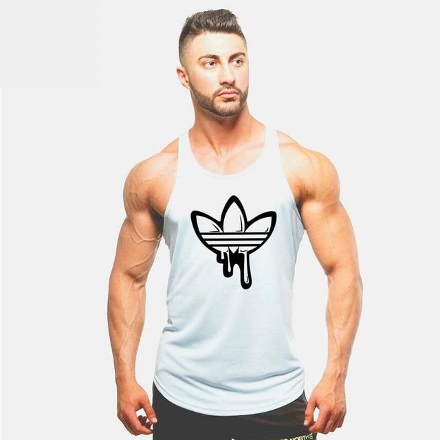 d54801f667d1b1 2018 Golds gyms clothing Brand singlet bodybuilding stringer tank top men  fitness T shirt muscle guys sleeveless vest Tank top