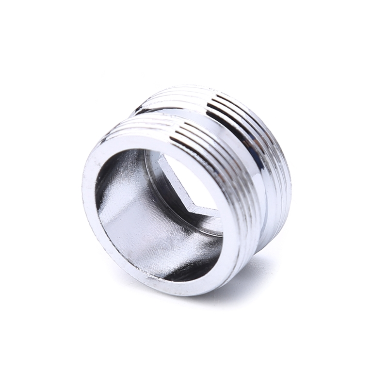 Solid Metal Adaptor Outside Thread Water Saving Kitchen Faucet Tap Aerator Connector