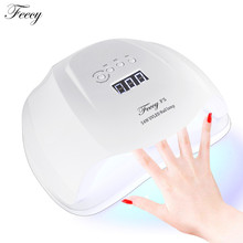 F5 UV Lamp 54W 36 LED Lamp For Nails SUN5X UV LED Nail Lamp Gel Polish Manicure Drying Nails Dual Ice lamp Gel Polish Manicure(China)