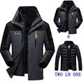 Invierno de Los Nuevos hombres/mujer Abajo chaqueta impermeable a prueba de viento ocasional de los hombres capa caliente de la chaqueta chaqueta de la capa más tamaño M-4XL5XL6XL